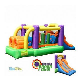 Obstacle Racer Bounce House by KidWise