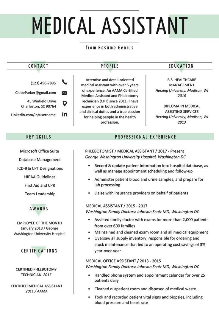 assistant medical writing resume sample genius