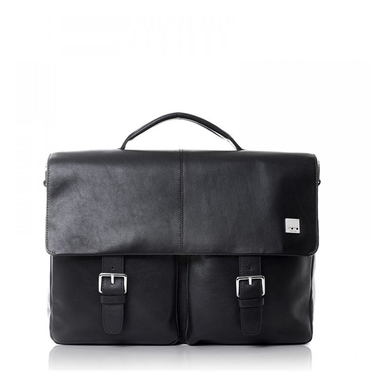 Black Knomo Jackson 15 inch Business Bag 1