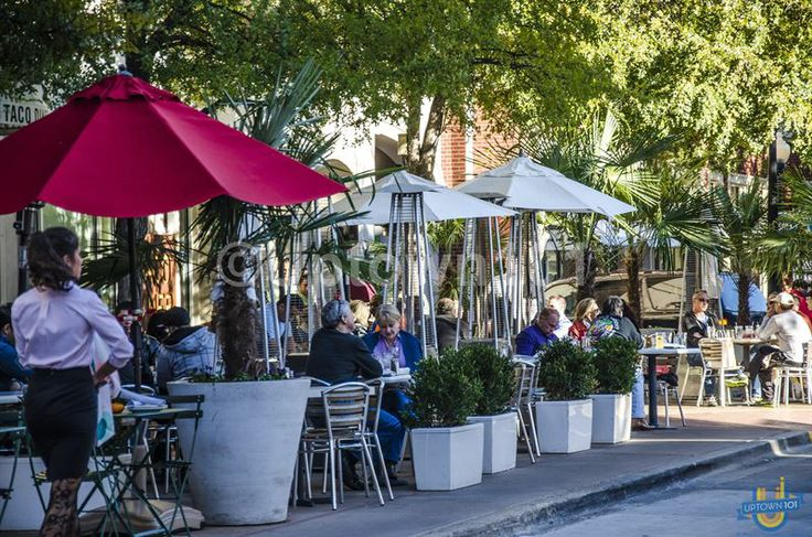 Always a lot to watch at the West Village.  West Village Dallas in Uptown Dallas More photos available at: #WestVillageDallas