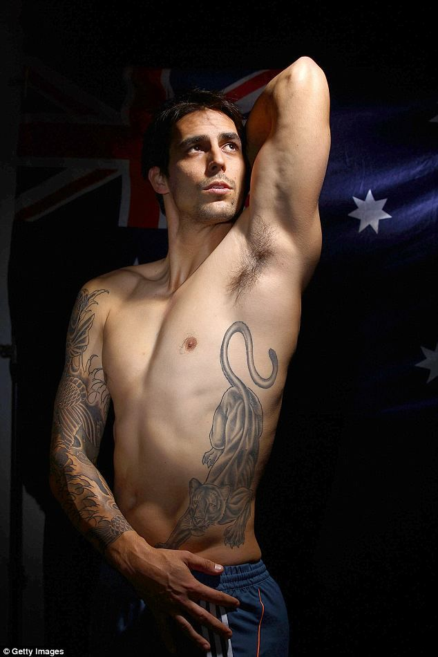 ­Mitchell Johnson, Australian cricket team.