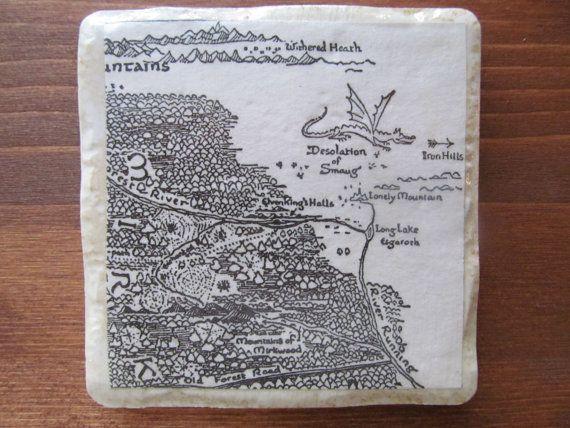 Desolation of Smaug Coaster    (Outbid.com #thehobbit #auction) #OutbidHobbit