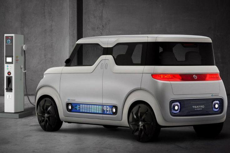 На Токийском автосалоне в ноябре компания Nissan покажет автомобиль, «скрещенный» со смартфоном - Teatro for Dayz.