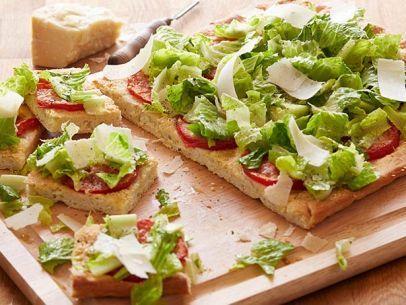 Caesar Salad Pizza #UltimateComfortFood: Food Network, Salad Pizza, Caesar Salad, Foodnetwork Com, Network Kitchens, Cesar Salad, Pizza Recipes, Comforter Food Recipes, Food Mashed Up