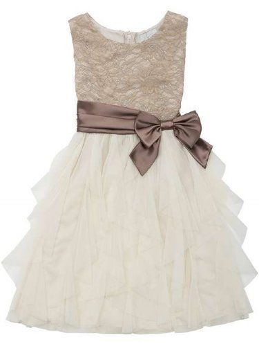 Tween Wedding Elegance Special Occasion Dress 7 to 16 Years Now in Stock