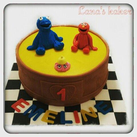 Fargerpels hotell cake