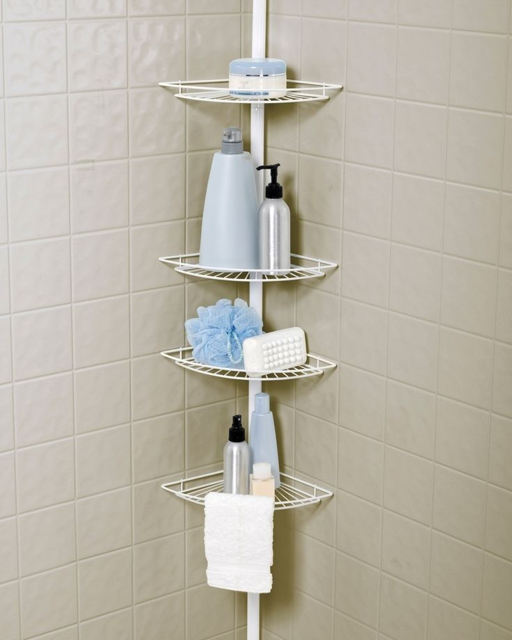Pole Caddy For Shower