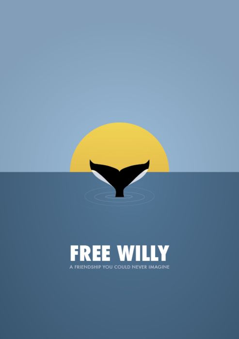 Free Willy started my total love of orcas. I've been obsessed since!