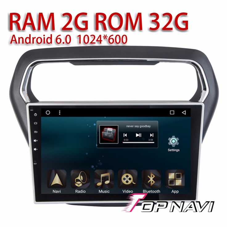 Vehicle Car Radio for Ford ESCORT 2014 2015 2016 10.1'' Android 6.0 Automotive Multimedia PC with Audio output Free Software