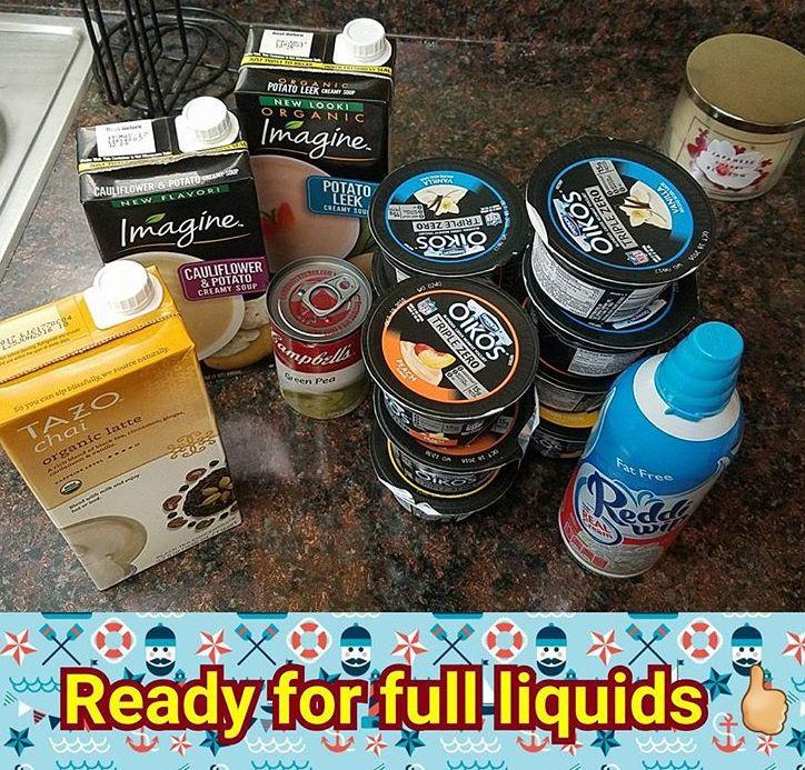 full liquid diet foods gastric bypass