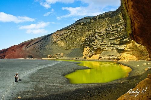 Laguna de los Clicos - El Golfo, Lanzarote
