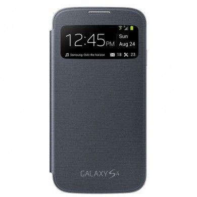 Funda Samsung Galaxy S4 Original S-View Cover - Negra