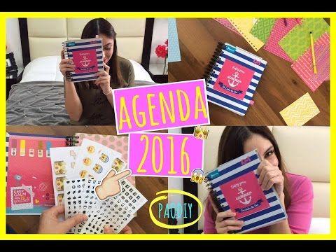 DIY: Crea Tu Propia Agenda 2016!! - YouTube