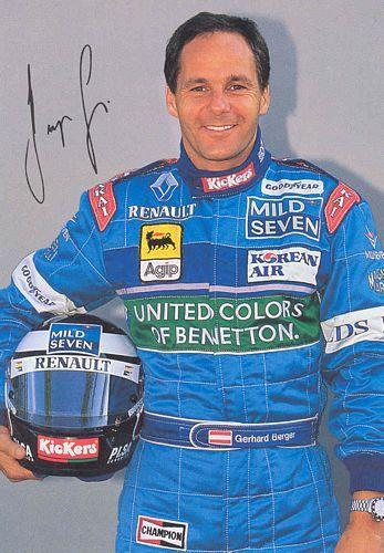 Gerhard Berger (A) 1996-97