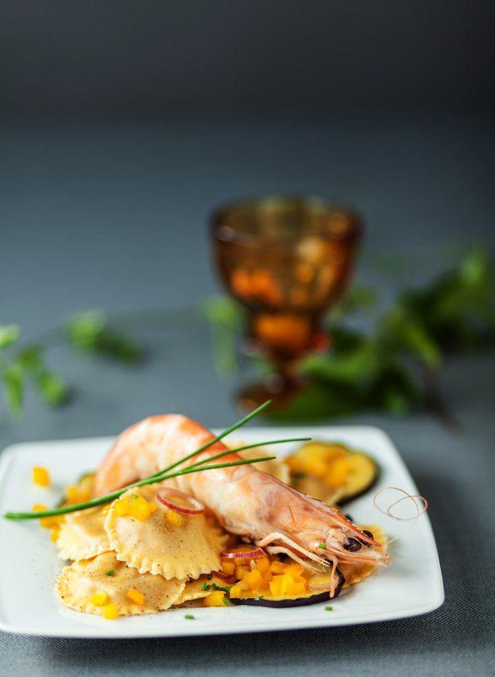 Lobster Ravioli Alfredo | Lobster House