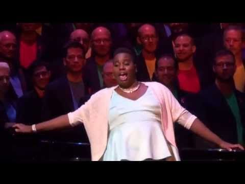 Random Black Girl Alex Newell and Boston Gay Men's Chorus - YouTube