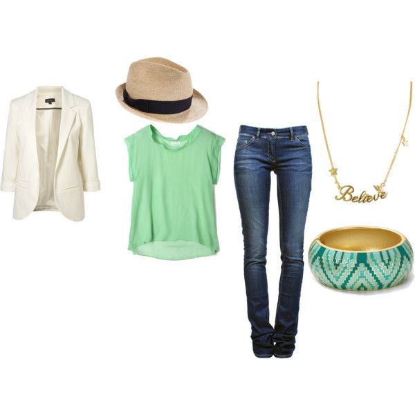 Casual Sunday brunch outfit :), created by jennifer-summer