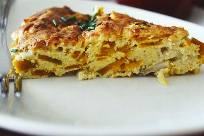 Torta de abóbora light e super prática | Blog Figos & Funghis