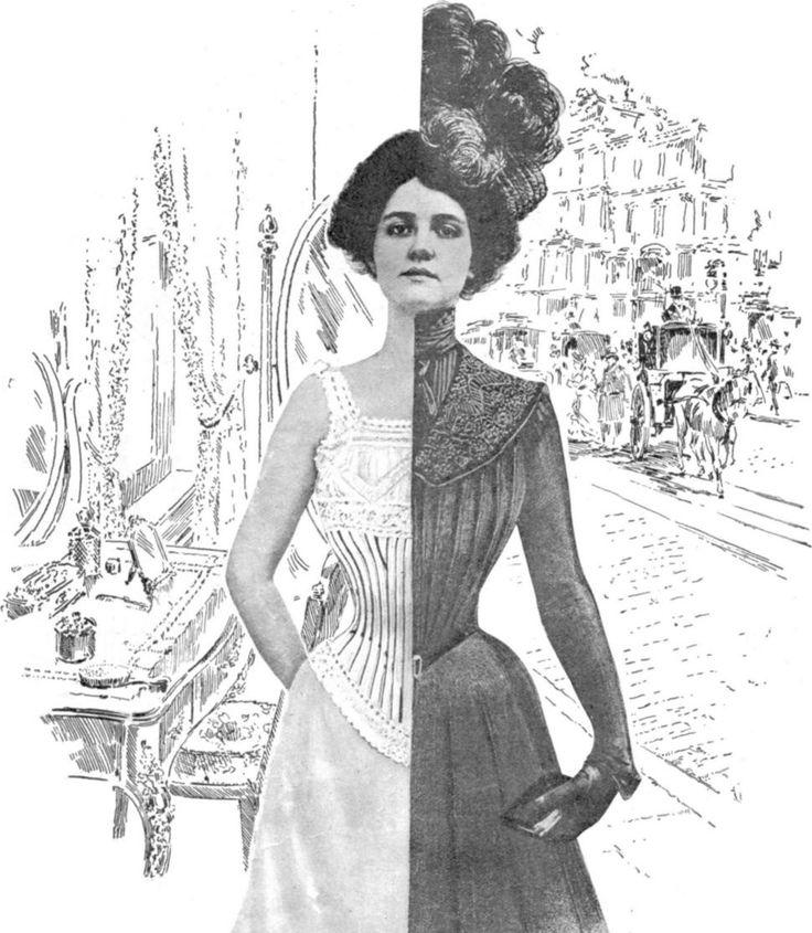 Les corsets: Pendant le grand chaleur dans les jardins, les dames, y compris la Reine et la Montespan, étaient toujours serrées à étouffer dans leur corset. A l'époque, les corsets servaient justement à faire monter les seins, ce qui était tueur pour le dos.
