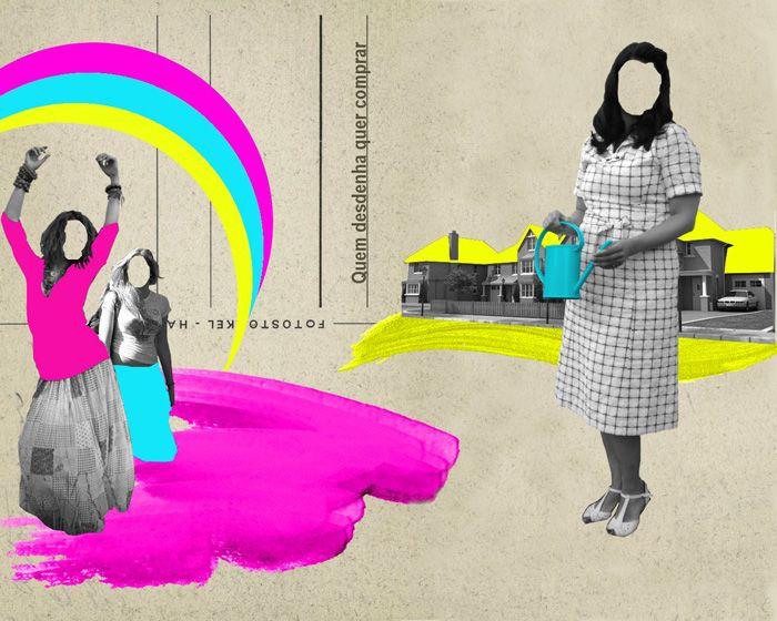 Raquel Martins : Quem desdenha quer comprar (inspirado na obra do ilustrador Mario Wagner)