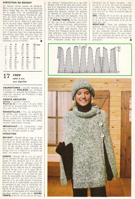 DIY vintage, couture, tricot, loisirs créatifs, années 70: Tout le tricot Vintage!