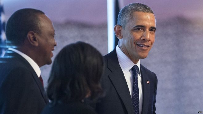 Obama speech on shared values to conclude Kenya visit - Source - BBC News - © 2015 BBC #Obama, #Kenya, #World