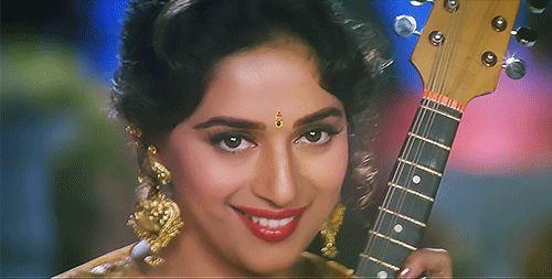 Madhuri Dixit in Hum Aapke Hain Kaun