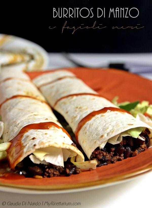 My Ricettarium: Burritos di manzo e fagioli neri