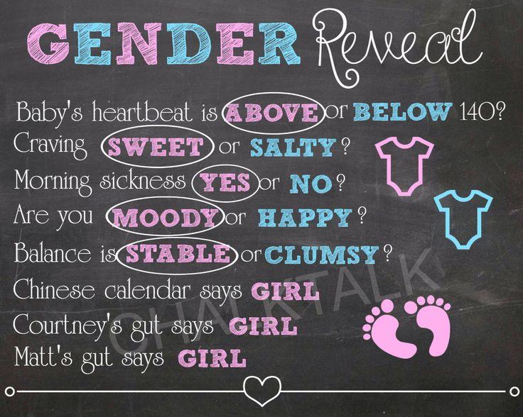 Baby Sex Predictors 46