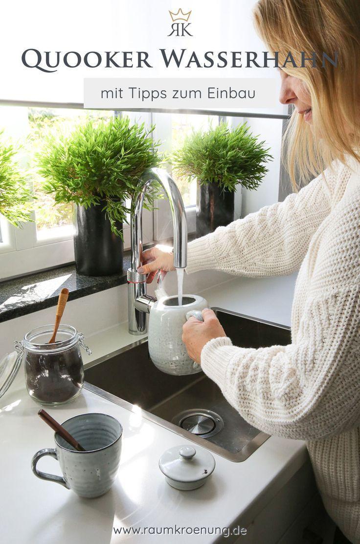 Quooker Kochendes Wasser Aus Dem Wasserhahn Minimalistisch Wohnen Wasserhahn Einrichtungstipps