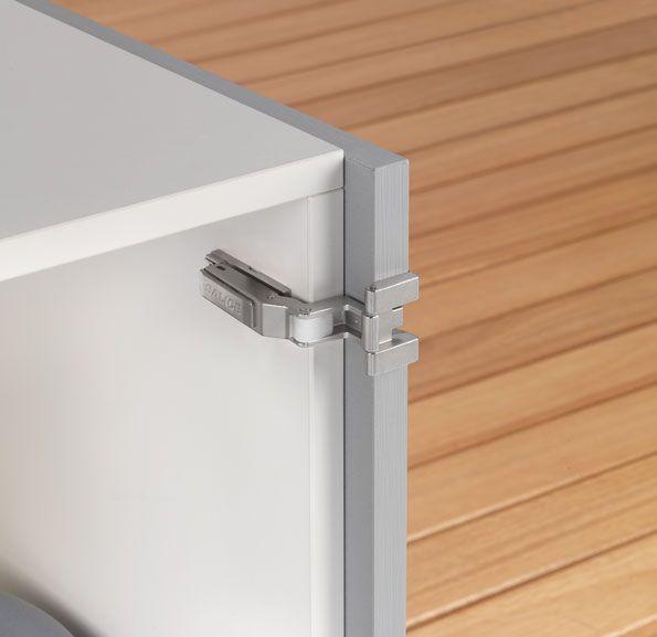 Cerniere ad un perno di rotazione - Single pivot hinges