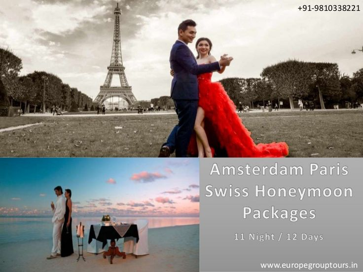 #EuropeHoneymoonPackages  #HoneymooninAmsterdam  #HoneymooninParis  #HoneymooninSwitzerland Europe Group Tours offers Best #HoneymoonPackages for Amsterdam Paris Switzerland from Delhi India with all inclusive resorts, hotels and cover all romantic destinations, sightseeing and most romantic places in Amsterdam Paris Swiss.
