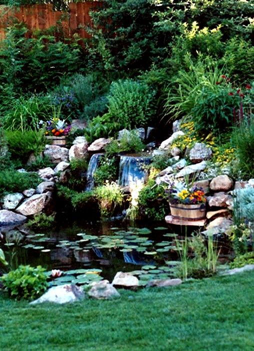 66 best garden landscape stuff images on pinterest for Fish pond stuff