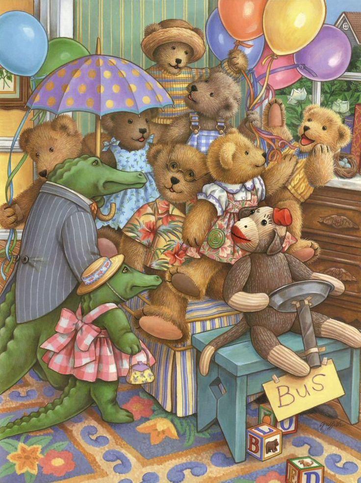 Teddy Bear, Teddy Bear ~ Linda Hill Griffith
