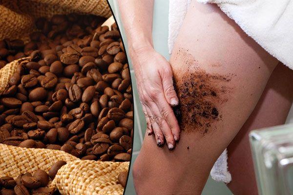 DIY:scrub κατά της κυτταρίτιδας με καφέ