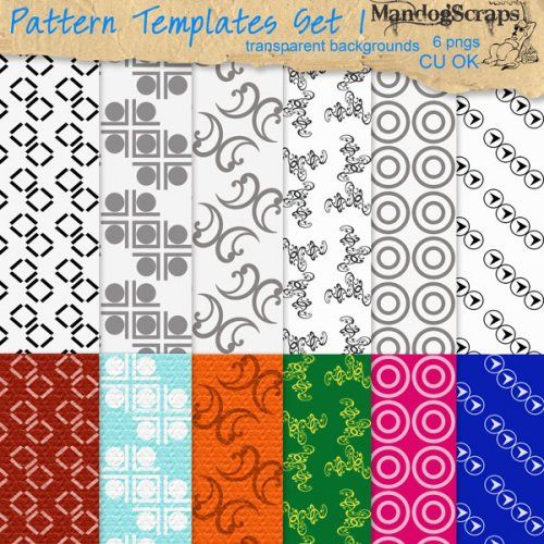 Pattern Templates Set1
