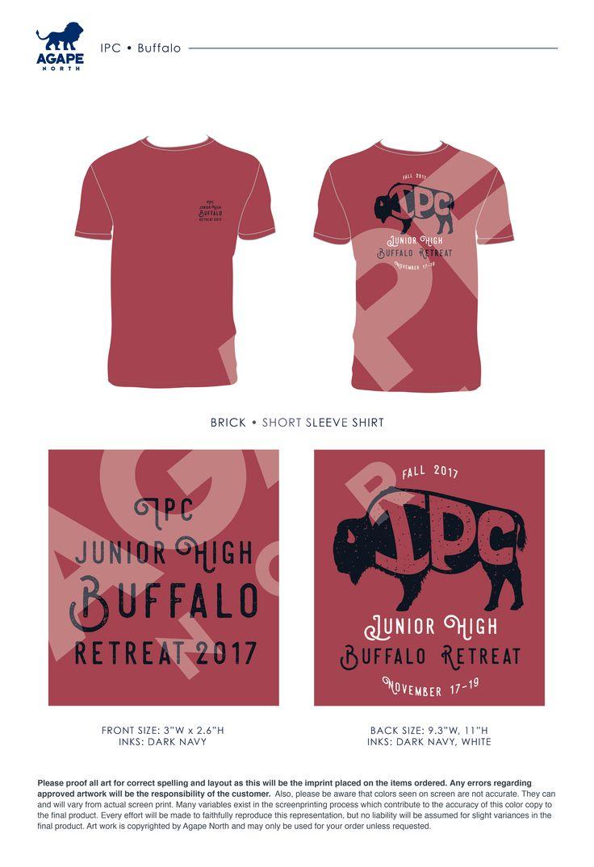 Agape North: Custom Apparel that Gives Back. #buffallo #churchretreats