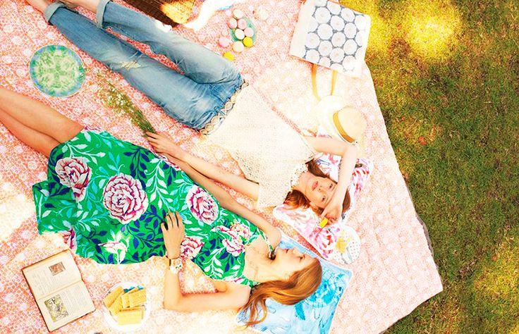 Comida, decoração, dicas e ideias para organizar seu piquenique! // + casaecozinha.com :-)