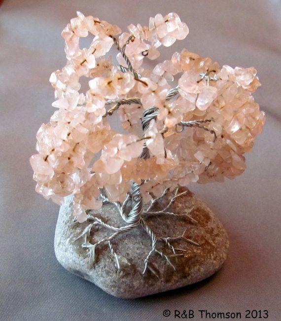 Gem Tree of Life - Rose Quartz
