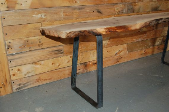 Custom Order for Aisling  Flat Steel Bench Legs by ModernLegs