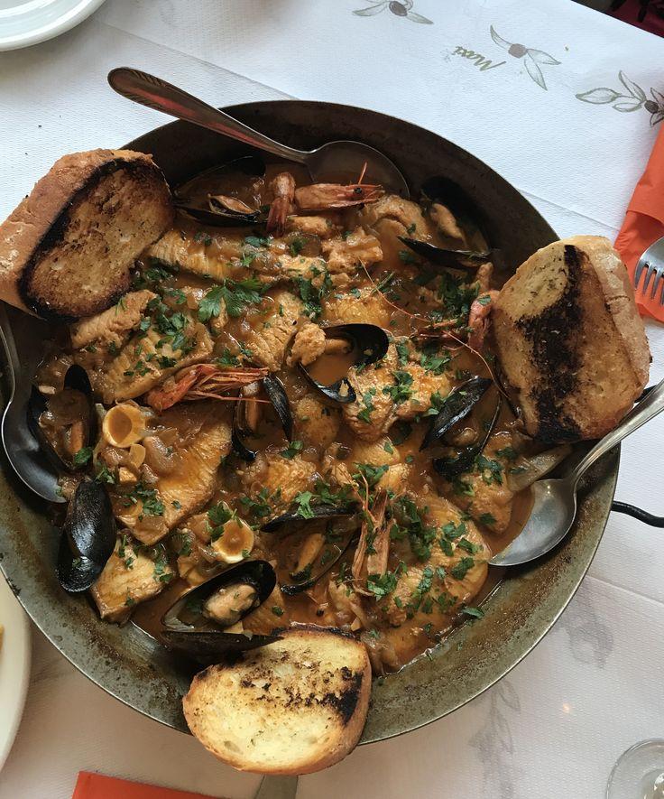 Mediterrian Fish Bowl @ S.O.S. restaurant in Gouvia (Corfu), Greece.