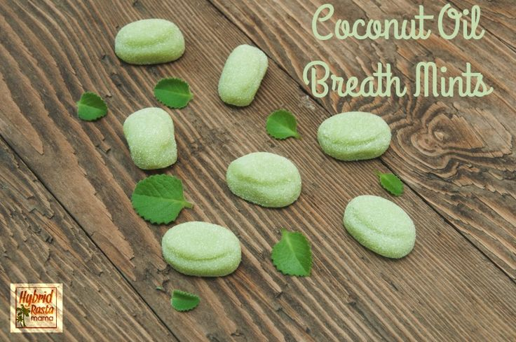 Bad breath happens! Find out how coconut oil can help plus grab an epic coconut oil breath mints recipe.