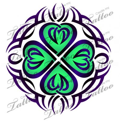 17 best images about tattoos on pinterest irish cross for Luck of the irish tattoos