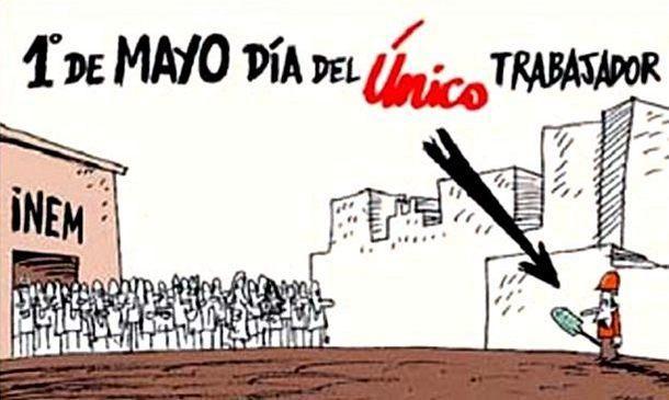 BARCELONA...1 DE MAYO , DÍA DEL TRABAJAD@R...6.202.700 PARADOS...1-05-2013...