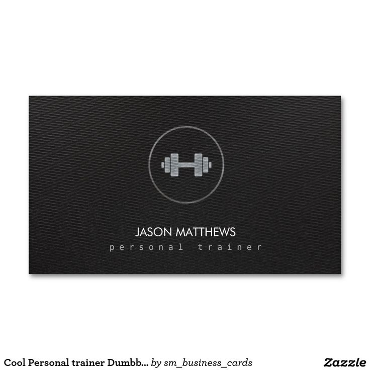 17 best customizable construction home improvement maintenance cool personal trainer dumbbell logo black business card reheart Choice Image