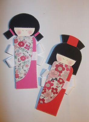 Bamboline con kimono