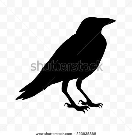 Best 25 raven logo ideas on pinterest feather vector feather vector cawing raven silhouette of the crow standing stock vector sciox Choice Image