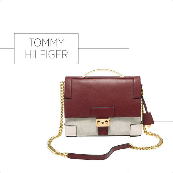 50 Showstopping Fall 2013 Bags: Tommy Hilfiger bag, $279, 212-223-1824