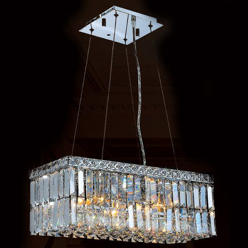 Worldwide Lighting Cascade 4 Light Crystal Chandelier Wayfair