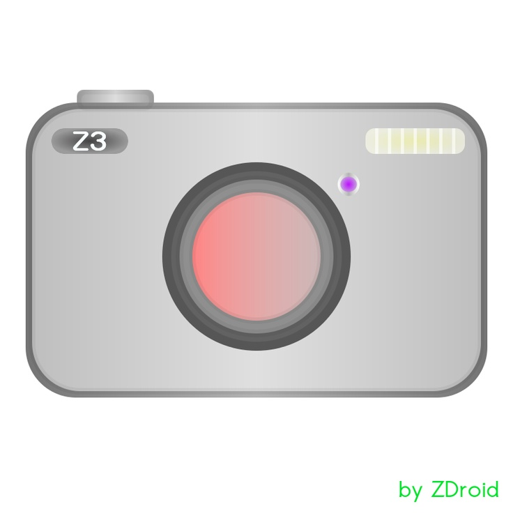 Z3 camera... my concept drawed in Inkscape...